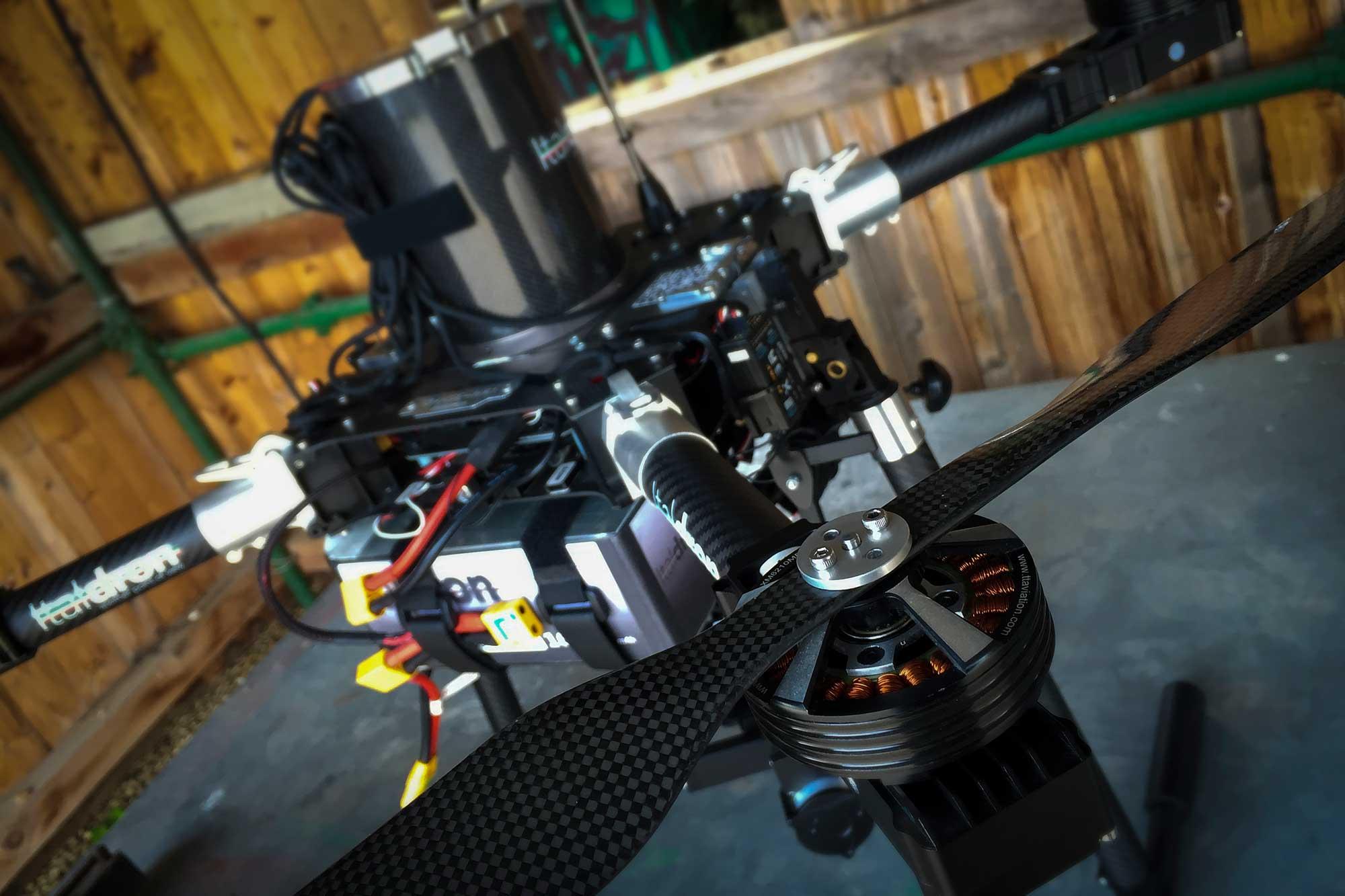Italdron Academy Base Lazio drone