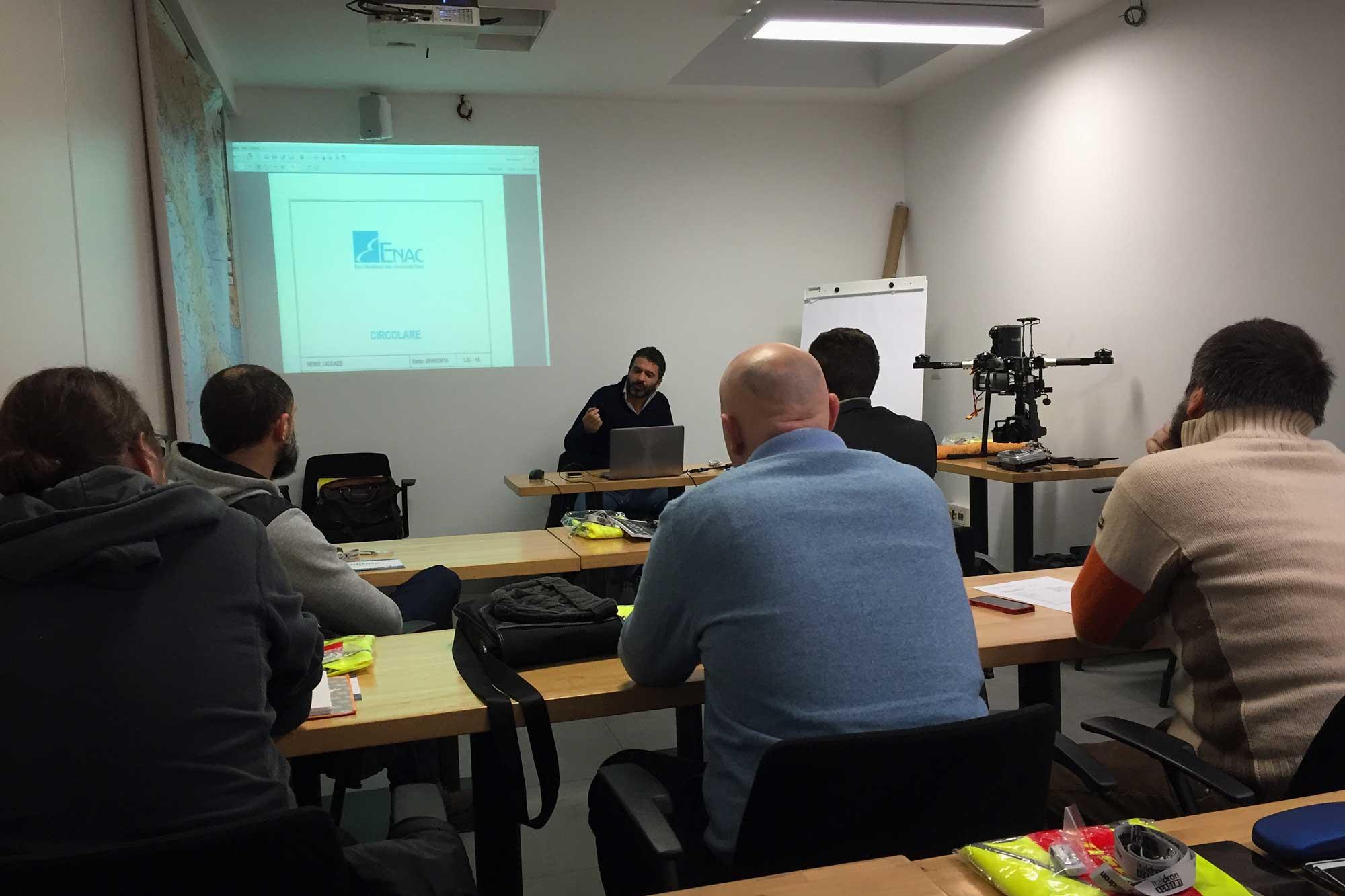 Italdron Academy Base Lazio Lezione Teorica